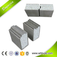 Expanded Polyurethane Non- asbestos Soundproof Eps Cement Sandwich Sip Panel cement board
