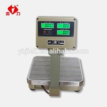Balanza computarizada de plataforma con indicador de precio, balanza electrónonica computarizada con indicador de precio
