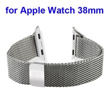 316L Stainless Steel Mesh Watch Band Strap for Apple Watch steel band