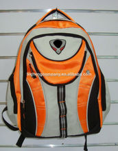 Simple 17 inch 600D wholesale back pack