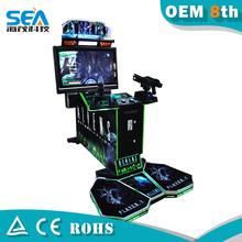 alieni le riprese del video gioco macchine per parchi di divertimento