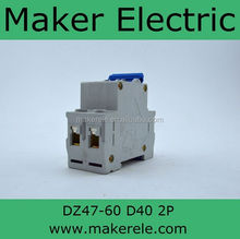 DZ47-60 2P D40 electrical installation mcb