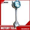 Low cost vortex water flow control meter