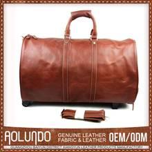 2015 Promotional Price Cutting Customized Oem Travel Bag On Wheels