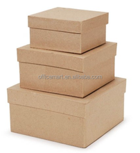 value pack kraft cover 4/5/6 inch squares box