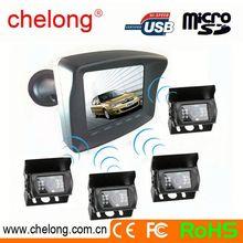 12M long range support max 4 wireless camera bus wireless backup camera system original car camera
