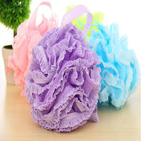 Lace Nylon Bath Sponge