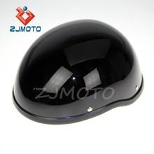 ZJMOTO Open Face Classic German Style Motorcycle Scooter Cruiser Helmet Motorcycle Helmet Open Face Helmet