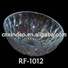 professionale vendita calda uso quotidiano di grandi dimensioni chiaro ciotola di vetro affonda