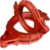Junjin 20#steel /forged dn150 concrete pump parts /accessories wedge clamp coupling / joint /pipe locking