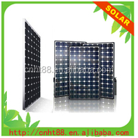 high efficiency photovoltaic 12v 100w solar panel