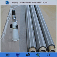 Alibaba china suppliers hebei YUZE ISO Certificate wholesale Ultra Fine Stainless Steel Plain Woven Wire Mesh For Filter