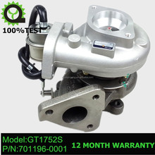 GT1752S Turbocharger turbo 701196-5007S 701196-0001 701196 for Nissan Patrol 2.8 TD