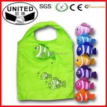Nylon Fish Shaped Foldable Bag / Animal Folding Shopping Bag