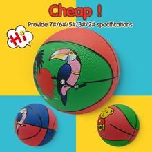 custom cheap sport exercise rubber basketball for sale