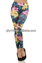 Girls pictures sexy Seamless Look Printed Leggings woman wear Leggings, tights, leggins