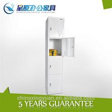 CC-4T Chinese cheap metal mini cabinet 4 compartments storage locker