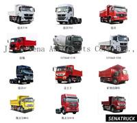 SINOTRUK 4x4 mini dump truck