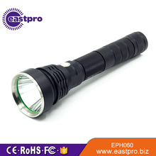 High reputation bright slip resistant tactical flashlight with strobe
