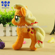 2014 hot soft animal my little horse plush toy