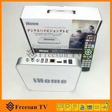 media player hd 1080P tv box IP900, ihome cable tv with 36 HD channels with BS CS, oversea japanese linux IPTV
