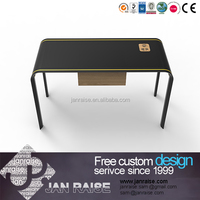 One drawer ,modern office wooden computer desk/table with wood veneer