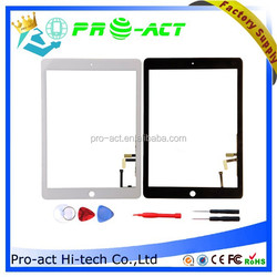 For iPad Air 5 Glass Touch Screen Digitizer + Adhesive + Home Button + tools