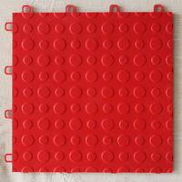 interlocking removable floor tiles