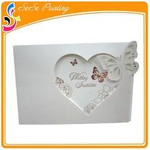 Customize A4 wedding invitation card paper