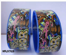 custom 1 inch silicone wristband reflective silicone wristband products