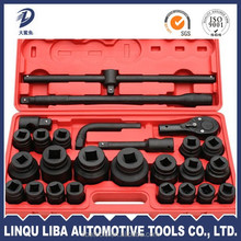 carbon steel tractor tire tools 26 Socket wrench Set