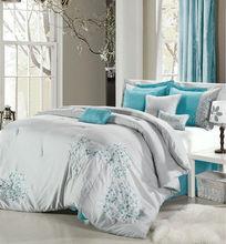 brands name custom printed fancy bed sheets/sheet