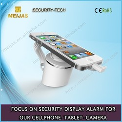 Promotion cell phone security display holder with alarm