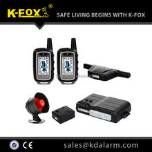 FM two way car alarm system with competitive price KD8101F