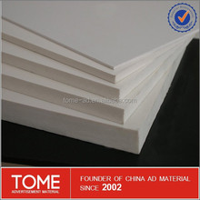 high quality and low price PVC Foam Board for wall decoration and advertising