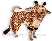 perrito de la cadera jirafa de vestuario