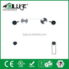 Aluminum and plastic led mounting bracket
