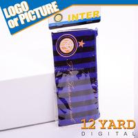 2015 latest Inter Milan football Stationery Bag fashion Nylon Pencil Pouch Box Case