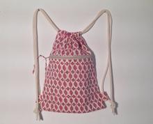 Decorative Pattern Drawstring Bag WIth Any Logo