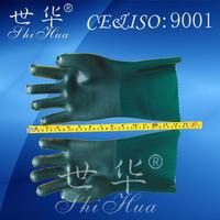 oil field work glove pvc oil resistant glove chemical gloves