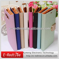 stylish silk skin leather stand cell phone cover cases for Samsung s4 i9500