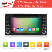 RK3188 Quad-core Chip Android Car Head Unit For Toyota Universal Support Bluetooth OBD2 DAB Radio SD