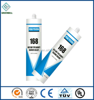 Fast dry big plate glass silicone sealant
