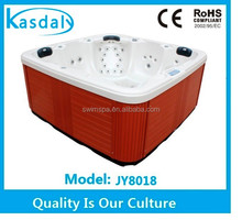 pop-up speaker acrylic bath hot tub