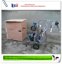 High quality single / double cow portable milking machine