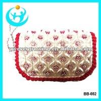 fashion promotion pearl beads purses