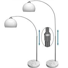 Lujo 70 S Diseño Interruptor De Pie Pantalla De Plástico Ajustable