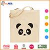 fashion simple convenient custom print canvas tote bag