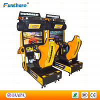 Funshare hummer coin op arcade games machines Equipment/Motion Simulator Car Racing Video Arcade Games For Sale