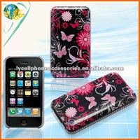 Butterfly Hard Case For Iphone 3G 3GS Accessory Back Protect IMD Design Cover